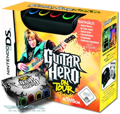 GUITAR HERO ON TOUR MIT GUITAR GRIP Nintendo DS NEU/OVP