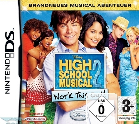 HIGH SCHOOL MUSICAL 2 – WORK THIS OUT NINTENDO DS NEU