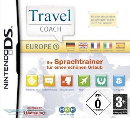 TRAVEL COACH EUROPE 1 EUROPA - SPRACHTRAINER DS NEU/OVP
