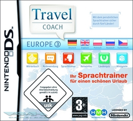 TRAVEL COACH EUROPE 3 EUROPA - SPRACHTRAINER DS NEU/OVP