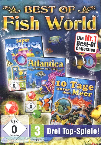 BEST OF FISH WORLD: ATLANTICA, SUPER NAUTICA PC NEU/OVP