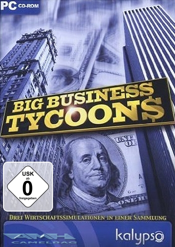 BIG BUSINESS TYCOONS 3 Wirtschaftssimulationen PC NEU