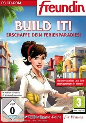 BUILD IT! – ERSCHAFFE DEIN FERIENPARADIES! PC NEU/OVP