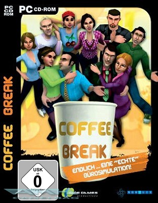 COFFEE BREAK – DIE BÜROSIMULATION für PC NEU/OVP