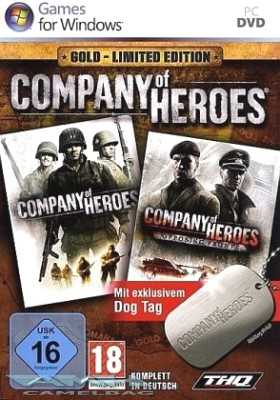 COMPANY OF HEROES GOLD – LIMITED EDITION für PC NEU/OVP