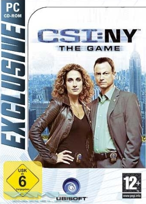 Csi NY New York The Game für Pc Neu Ovp