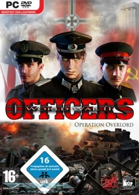 OFFICERS - WORLD WAR II OPERATION OVERLORD PC NEU/OVP