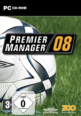 PREMIER MANAGER 08 2008 – FUSSBALL MANAGER PC NEU/OVP