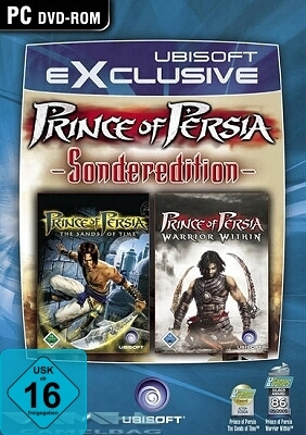 Prince of Persia Sands of Time und Warrior Within GameBox für Pc Neu Ovp