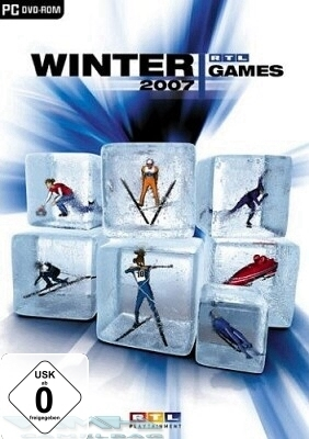 RTL Winter Games 2007 Winterspiele Wintersport Simulator Game für Pc Neu Ovp