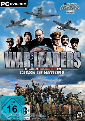 WAR LEADERS – CLASH OF NATIONS für PC NEU/OVP