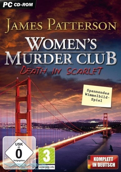 WOMEN`S WOMENS MURDER CLUB –DEATH IN SCARLET PC NEU/OVP