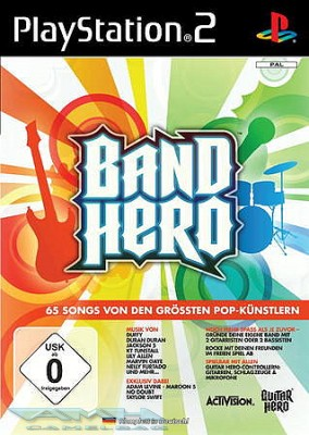 BAND HERO SOFTWARE für Sony Playstation 2 PS2 NEU/OVP