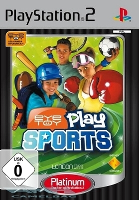 EYETOY PLAY SPORTS für Playstation 2 PS2 NEU/OVP