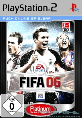 FIFA 06 PLATINUM - FUSSBALL Playstation 2 PS2 NEU/OVP