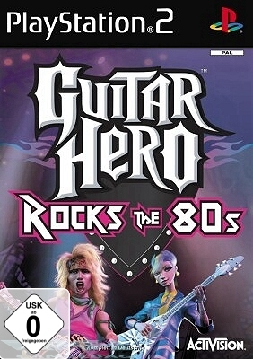 GUITAR HERO – ROCKS THE 80S 80`S 80 `S Rock PS2 NEU/OVP