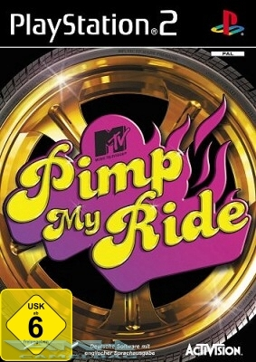 MTV PIMP MY RIDE für PLAYSTATION 2 PS2 NEU/OVP