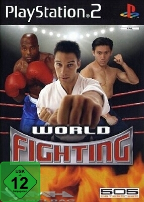 WORLD FIGHTING Wrestling, Thai-Boxen für PS2 NEU/OVP