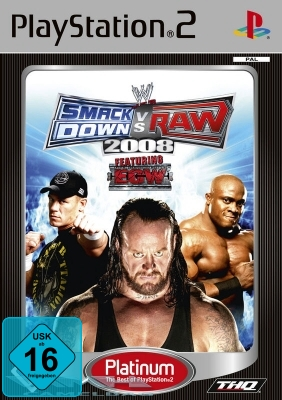 WWE SMACKDOWN VS RAW 2008 für Playstation 2 PS2 NEU/OVP