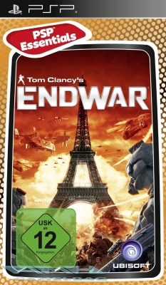 TOM CLANCY'S ENDWAR END WAR für Sony PSP NEU/OVP
