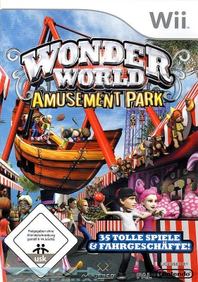 WONDER WORLD WONDERWORLD AMUSEMENT PARK für Nintendo Wii NEU/OVP