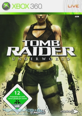 LARA CROFT: TOMB RAIDER - UNDERWORLD XBOX 360 NEU/OVP