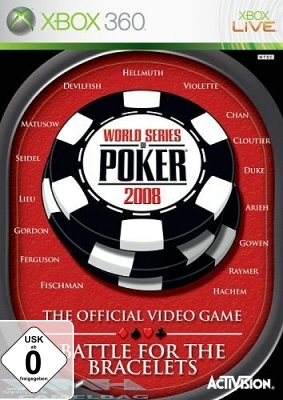 WORLD SERIES OF POKER 2008 für XBOX 360 NEU/OVP