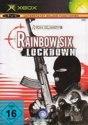 TOM CLANCY`S: RAINBOW SIX LOCKDOWN für XBOX NEU/OVP